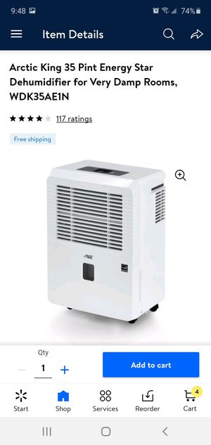 Arctic king Dehumidifier for Sale in Pico Rivera, CA