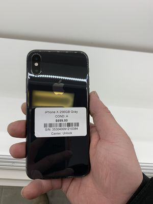iPhone X 256GB unlocked for all carriers. Financing available!! for Sale in Las Vegas, NV