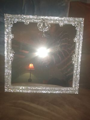 Crystal bling mirror for Sale in Gainesville, VA
