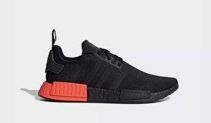 NEW Adidas NMD R1 EE5107 Core Black / Solar Red Boost Mens Shoes US Size 12.5. for Sale in Santa Ana, CA