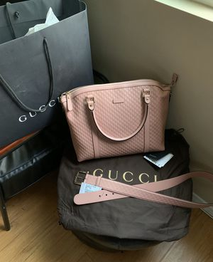 Microguccissima Soft/Margaux Pink Leather for Sale in Moreno Valley, CA
