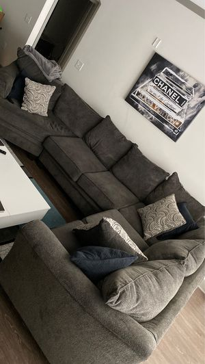 Grey Living Room Sectional for Sale in Nashville, TN