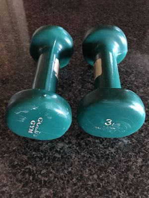 3lb Golds Gym Hand Weights for Sale in Atlanta, GA