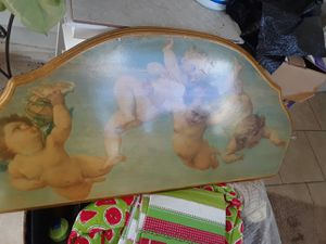 Heavenly Cherub mantle. $20.00 cash only for Sale in Dallas, TX