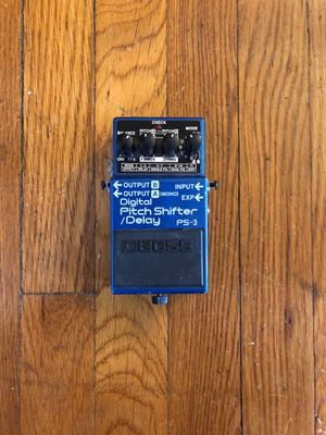 Boss effect pedal pitch shifter/delay for Sale in University City, MO