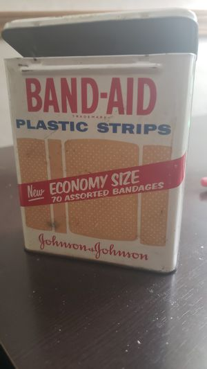 Vintage Band Aid Tin for Sale in Traverse City, MI