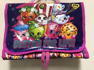 Brand new Shopkins storage bag with tag for toys or stationary for Sale in Cleveland, OH