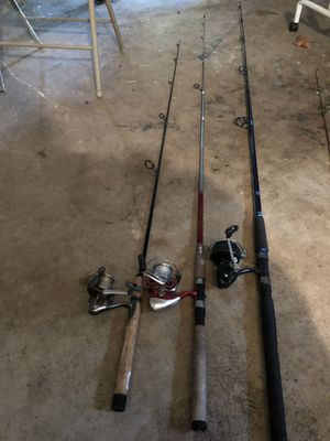 Open Face Fishing Rod N Reels for Sale in Conyers, GA