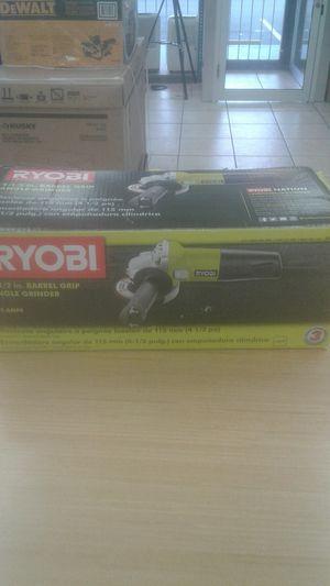 Ryobi angle grinder for Sale in Davie, FL