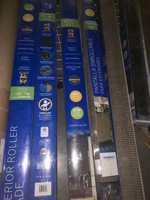 Coolaroo Exterior Roller Shades SALE for Sale in Hiram, GA