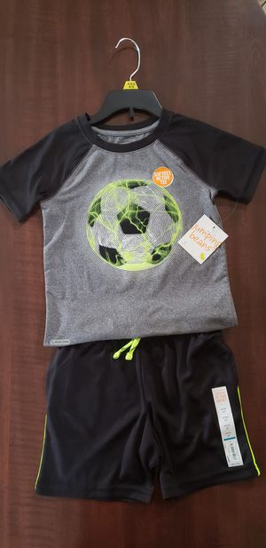 Boy's short and Tee set size 4T for Sale in Fontana, CA