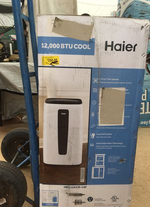 Portable Air Conditioner Haier 12,000 btu cool for Sale in Las Vegas, NV