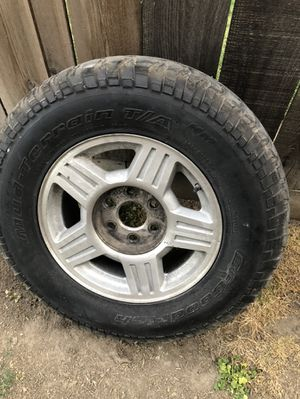 "17"" 6lug chevy wheels for Sale in Turlock, CA"