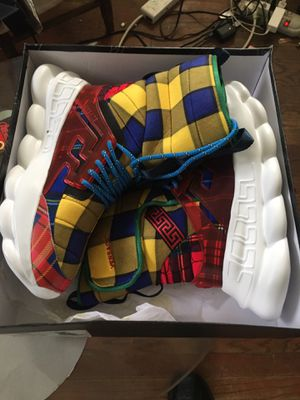 Versace Sneaker Boots US SZ 10.5 brand new for Sale in Washington, DC