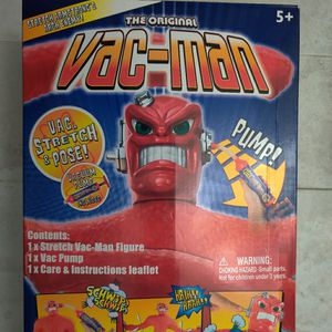 Stretch Armstrong The Original Vac-Man Action Figure Brand New Unopened for Sale in Pharr, TX