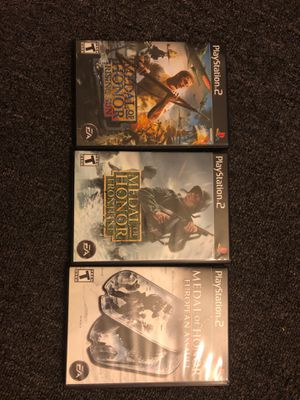 Medal of Honor Collection (PS2) for Sale in Opa-locka, FL