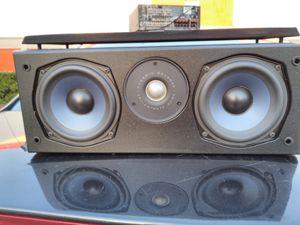 Polk Audio CS245I Center Channel Speaker /( 2 )5in &( 1 )Trinamilanate dome tweeter for Sale in Dallas, TX