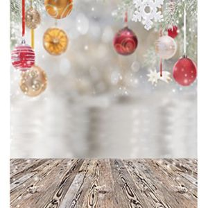 Christmas Photo Baby Background Wooden Floor Photography Backdrops Vinyl (10x 10) for Sale in Rialto, CA