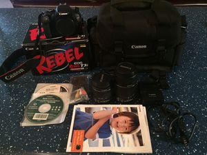 Canon Camera + EXTRAS for Sale in El Mirage, AZ