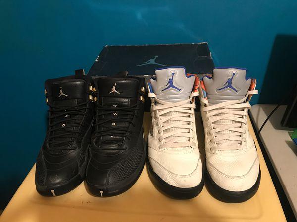 Jordan 12s and 5s