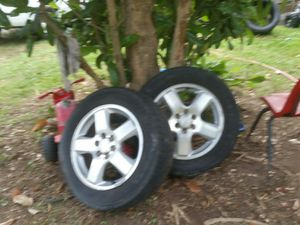 Chevy 6 lug wheels ALL 4 RIMS for Sale in Stanley, NC