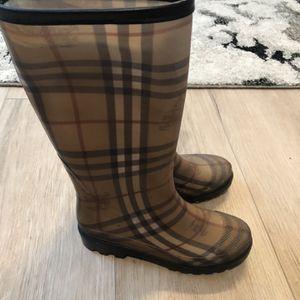 Burberry Rain Boots for Sale in Winchester, CA