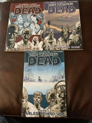 Walking dead graphic novels for Sale in Stoughton, MA