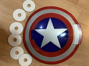 Captain America disc shooting shield for Sale in Newcastle, WA