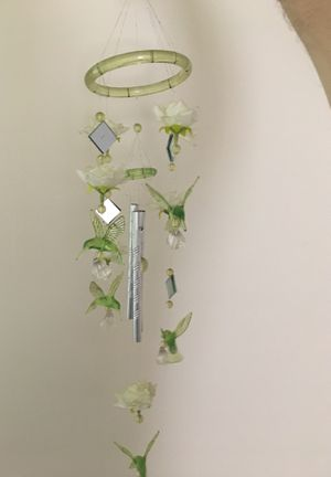 Bird wind chime decoration for Sale in Rydal, PA