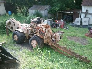 Burkeen b30 vibratory plow and trencher for Sale in Charlottesville, VA