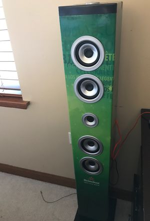Heineken Bluetooth Tower Speaker for Sale in Carol Stream, IL