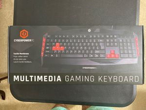 Cyberpower multimedia gaming keyboard for Sale in Clarksburg, MD