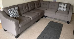 3+2+1 sectional couch - used for 1.6yrs for Sale in Auburn Hills, MI