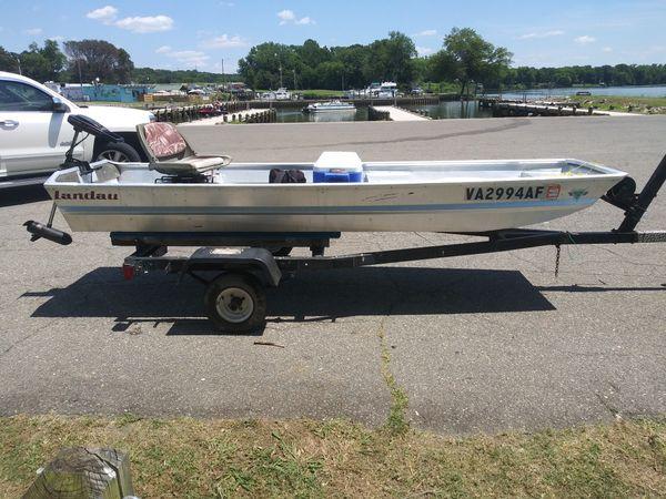 12 ft aluminum john boat