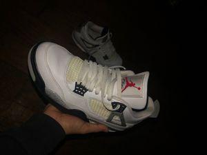 Air Jordan 4 white cement for Sale in Dallas, TX