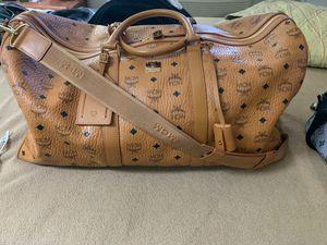 McM duffle bag (cognac weekender 50) for Sale in Henderson, NV