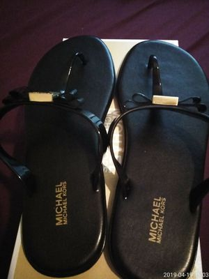Brand new pair. Michael Kors sandals for Sale in Wendell, NC