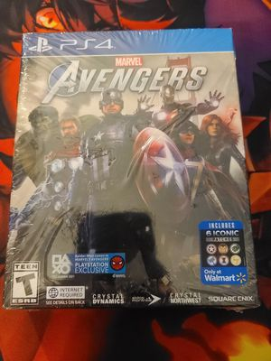 New Avengers ps4 game for Sale in Santa Ana, CA