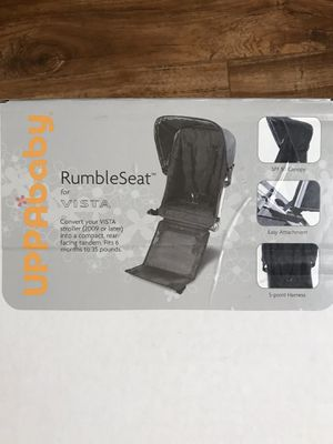 Uppababy Vista Rumble Seat for Sale in Vancouver, WA