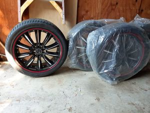 4 set tires for Sale in San Diego, CA
