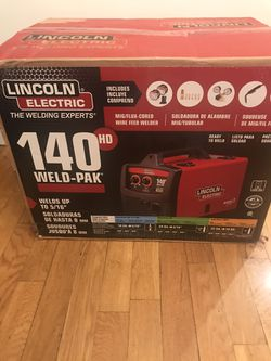 Lincoln Electric 140HD Weld Pak for Sale in Staten Island,  NY