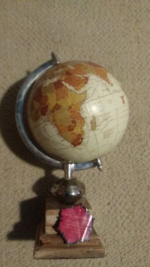Indian rotating earth globe for Sale in Shoreline, WA