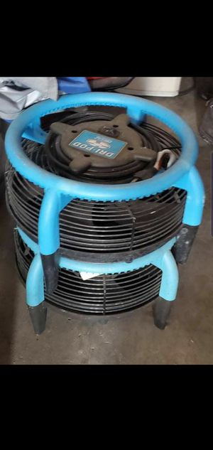 2 carpet fans for the price of 1 for Sale in Houston, TX