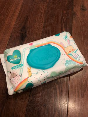 New Pampers sensitive wipes $3 with purchase for Sale in Buckeye, AZ