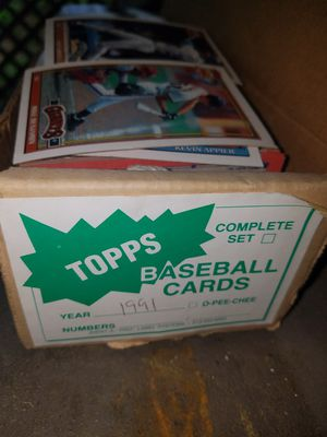 Vintage 1991 Top Baseball Card Complete Set for Sale in Fairfax, VA