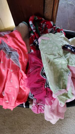 Kids clothes mainly baby clothes have a good bit of them for Sale in Bunker Hill, WV