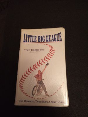 Little big league vhs movie sealed for Sale in Chicago, IL