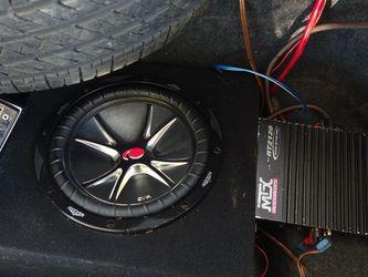 CAR AUDIO SUB AMP AND RADIO for Sale in Richmond,  CA