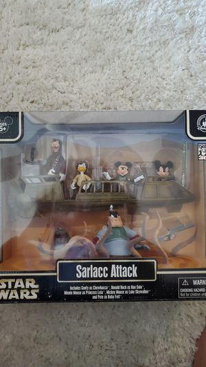 Limited edition Star wars star tours disney sarlacc attack for Sale in Plano, TX