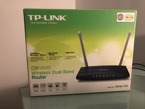 Wireless Router TP Link AC1200 for Sale in Denver, CO